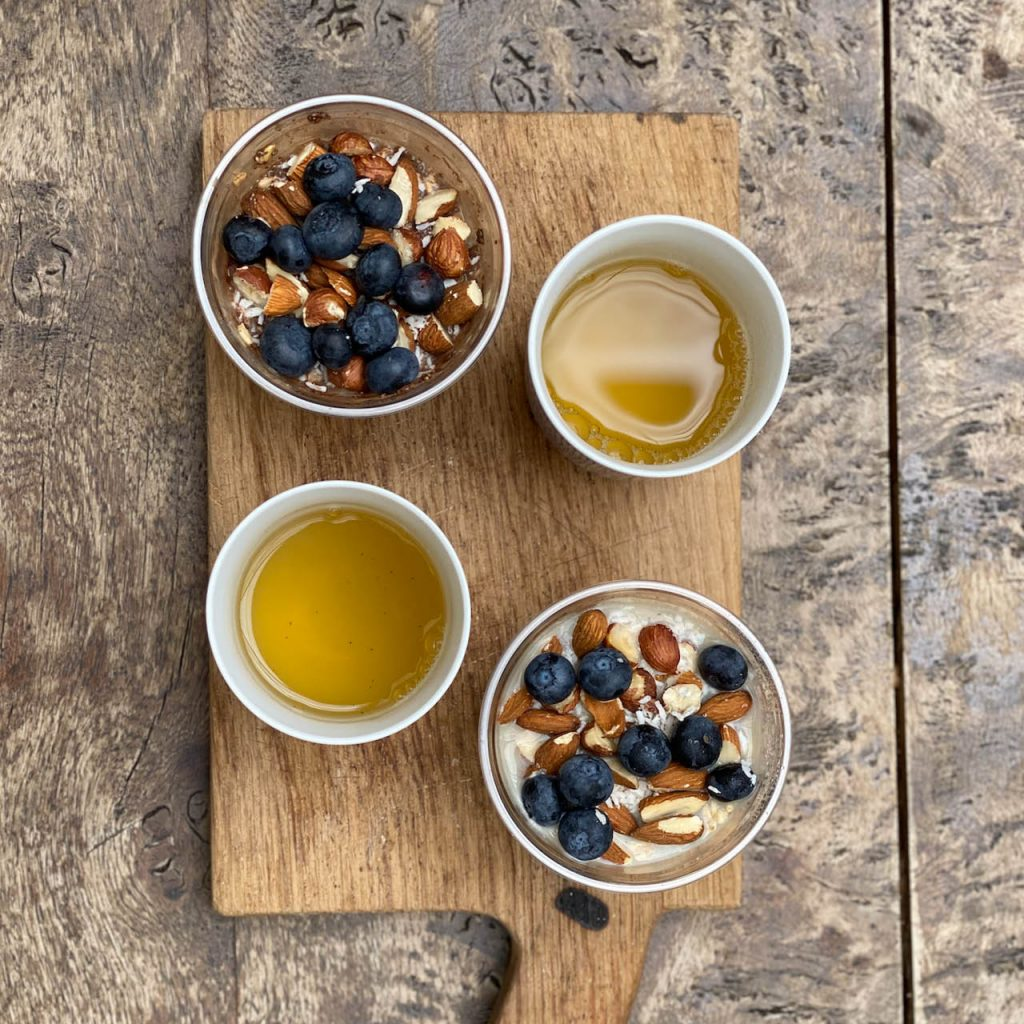 Yogahome Cafe London - Summer Breakfast